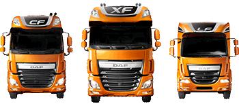 daf trucks XF , CF, LF