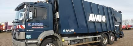 Second hand garbage trucks online at Kleyn Trucks