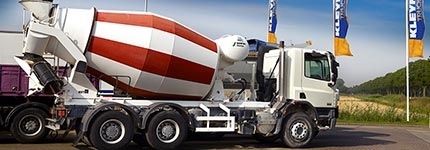 Second hand mixer trucks and trailers for sale at Kleyn Trucks