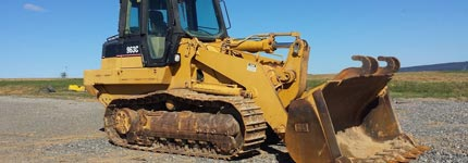 Used track loaders on stock at Kleyn Trucks