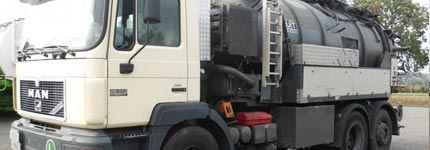 Big stock used occasion Vacuum trucks online